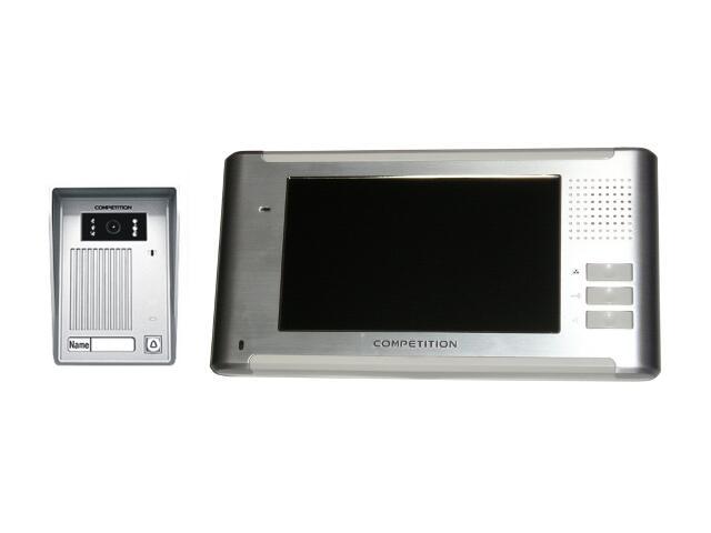 Videodomofon kolorowy 7'' LCD głośnom. panoram. MT337C-CK2+SAC35C-CK Competition