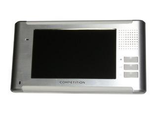 """Monitor do videodomofonu głośnomówiący 7"""" LCD panoramiczny MT337C-CK2 Competition"""