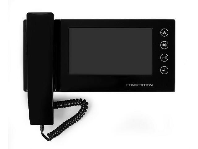 """Monitor do videodomofonu głośnomówiący ze słuchawką 7"""" LCD MT270C-CK2B Competition"""