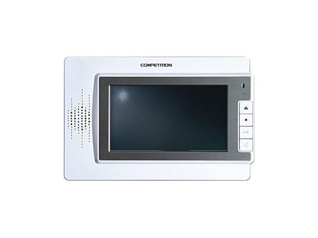 """Monitor do videodomofonu głośnomówiący 7"""" LCD MT320C-CK2W Competition"""