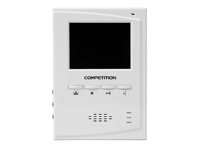"Monitor do videodomofonu głośnomówiący 4"" LCD MT395C-CK2 Competition"