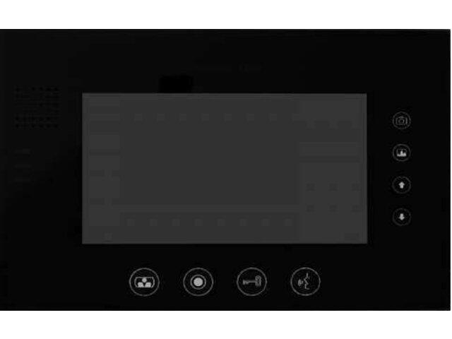 """Monitor do videodomofonu głośnomówiący z wbudowaną pamięcią 7"""" LCD MT670C-CK2SB Competition"""