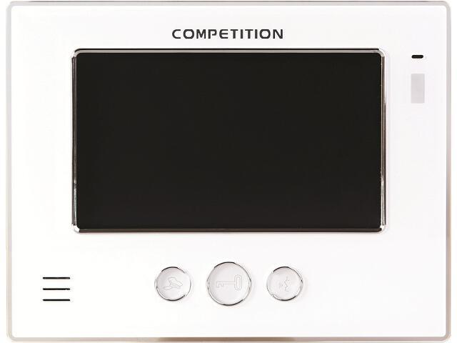 "Monitor do videodomofonu głośnomówiący 7"" LCD MT810C-CK2 Competition"