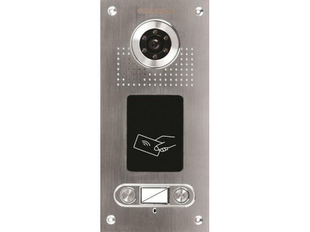 """Kaseta bramowa z czytnikiem RFiD do wideodomofonu z kamerą 1/3"""" CCD SAC562C-CKA Competition"""