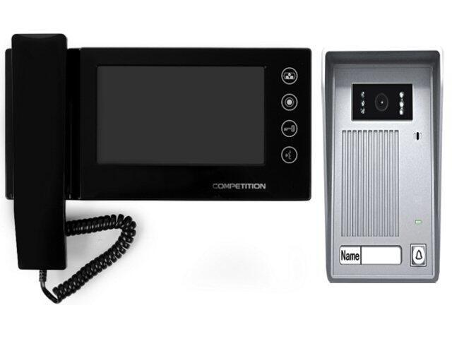 "Videodomofon kolorowy 7"" LCD głośnomówiący MT270C-CK2+SAC35C-CK Competition"