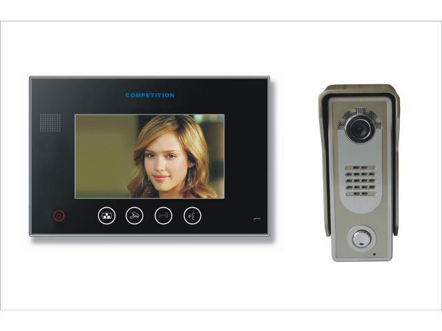 "Videodomofon kolorowy 7"" LCD głośnomówiący MT670C-CK2B+SAC5C-CK Competition"