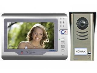 """Videodomofon kolorowy LCD 7"""" z pamięcią i czytnikiem kart SD, OR-VID-VT-1012 Orno"""