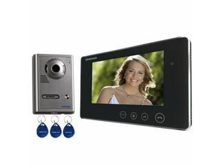 "Videodomofon kolorowy LCD 7"" z kartą magnetyczną OR-VID-VP-1009 Orno"