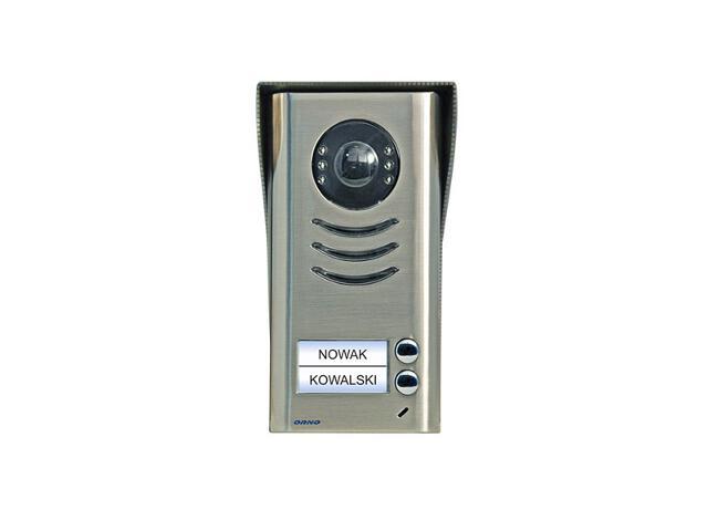 Kaseta bramowa 2-rodzinna z regulowaną kamerą do zestawów z serii VT, OR-VID-VT-2001KV Orno