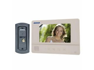 """Videodomofon kolorowy LCD 7"""" z kamerą typu pin hole, biały OR-VID-YT-1007/W Orno"""