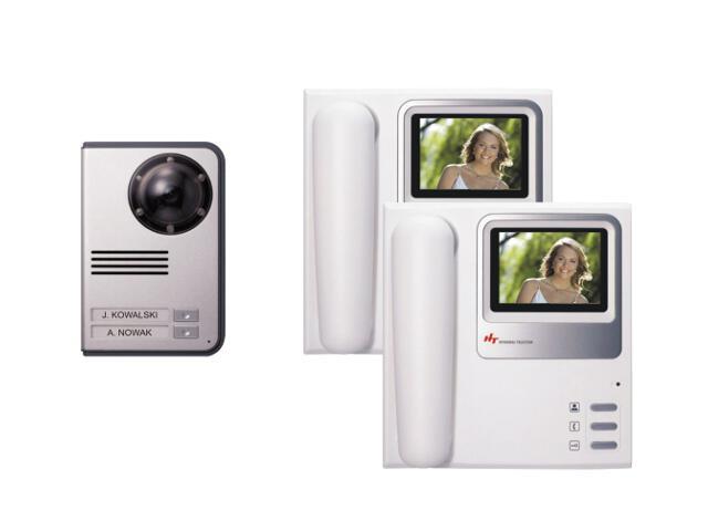 Videodomofon dwurodzinny kolorowy HAC-300x2/HCC-702 Hyundai