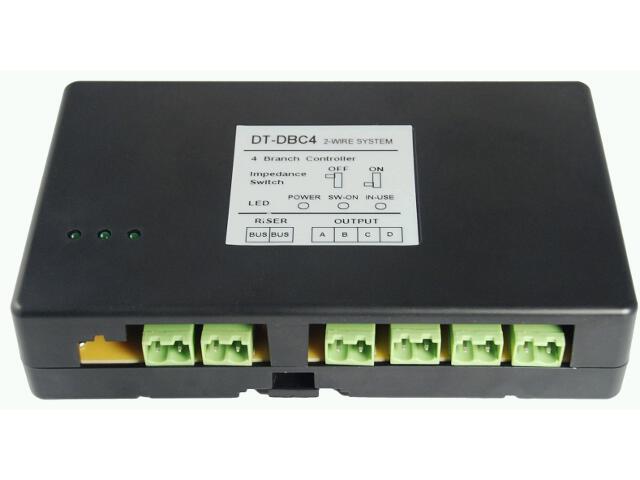 Sterownik 4 wyjściowy dystrybutor sygnału do zestawów z serii DT OR-VID-DT-1015MS Orno