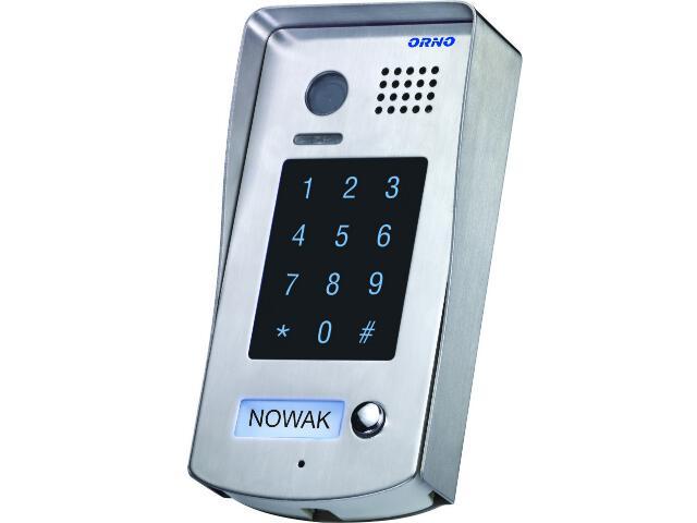 Kaseta bramowa z szyfratorem i regulowaną kamerą do zestawów z serii VT OR-VID-VT-1014KV Orno