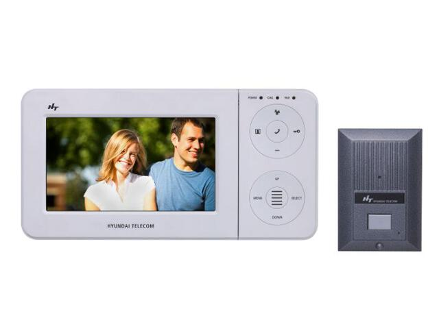 "Videodomofon kolorowy LCD 7"" z kamerą typu pin hole OR-VID-HT-1018 Hyundai"