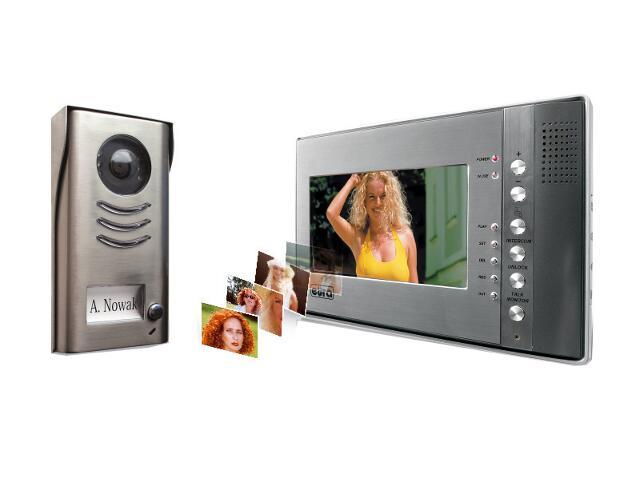 Videodomofon kolorowy z pamięcią obrazów VT-691DM-581 Eura-Tech