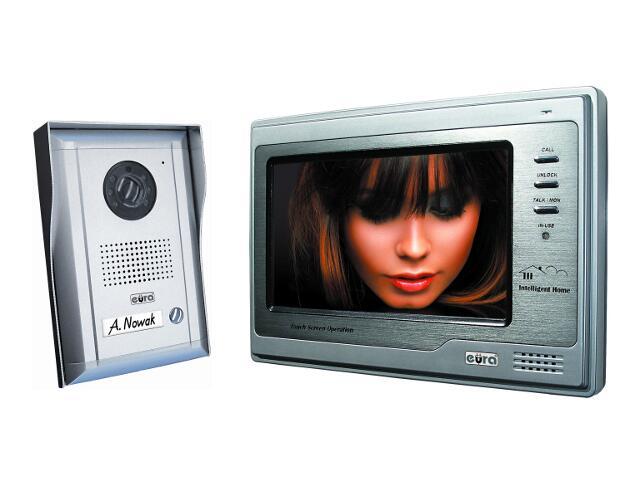Videodomofon kolorowy z pamięcią obrazów i dotykowym ekr. VT-692MT-593 Eura-Tech