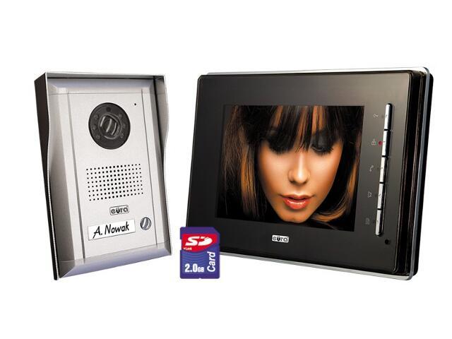 "Videodomofon kolorowy VT-6910SD-593 LCD 7"" z funkcją ramki cyfrowej Eura-Tech"