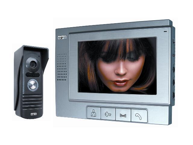 """Videodomofon kolorowy VDP-22A3 """"Pluton"""" otwieranie 2 wejść Eura-Tech"""