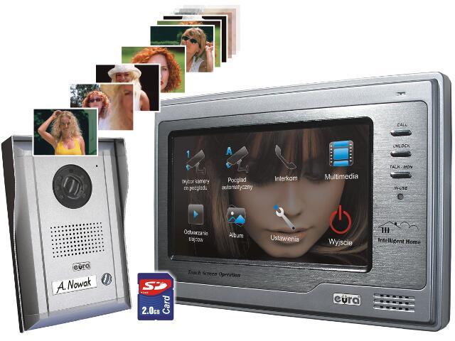 Videodomofon kolorowy VDP-34A5 2 Easy Eura-Tech