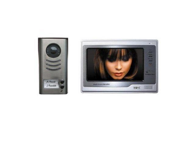 """Videodomofon kolorowy VT-692MT-591 ekran 7"""" dotykowy Eura-Tech"""
