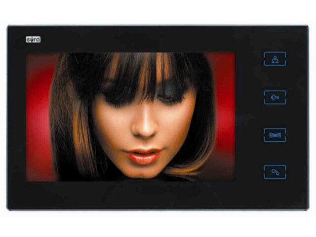 "Monitor do videodomofonu 7 cali LED VDA-08A3 ""Saturn"" Eura-Tech"