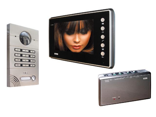 Videodomofon kolorowy VDP-10A6 Merkury z zamkiem szyfrowym Eura-Tech