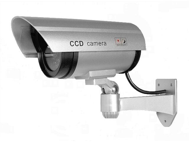 Kamera - atrapa kamery monitorującej AK-01B3 do użytku wewnętrznego i zewnętrznego Eura-Tech