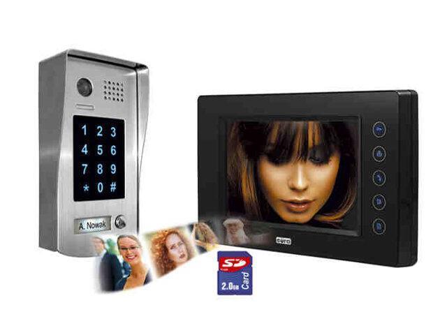 """Videodomofon 2-żyłowy """"EURA-2EASY"""" VDP-37A5 Eura-Tech"""