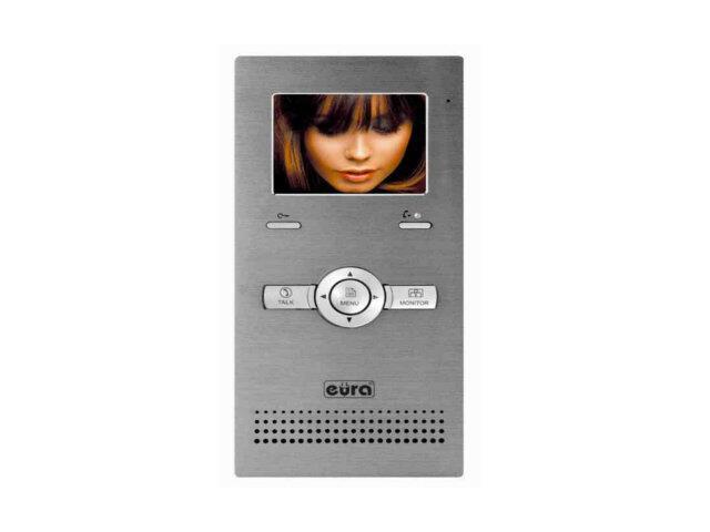 """Monitor do videodomofonu 3,5 cali 2-żyłowy """"EURA-2EASY"""" VDA-27A5 Eura-Tech"""