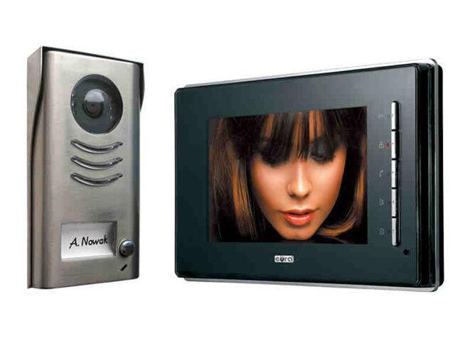 """Videodomofon 2-żyłowy """"EURA-2EASY"""" VDP-21A5 Eura-Tech"""