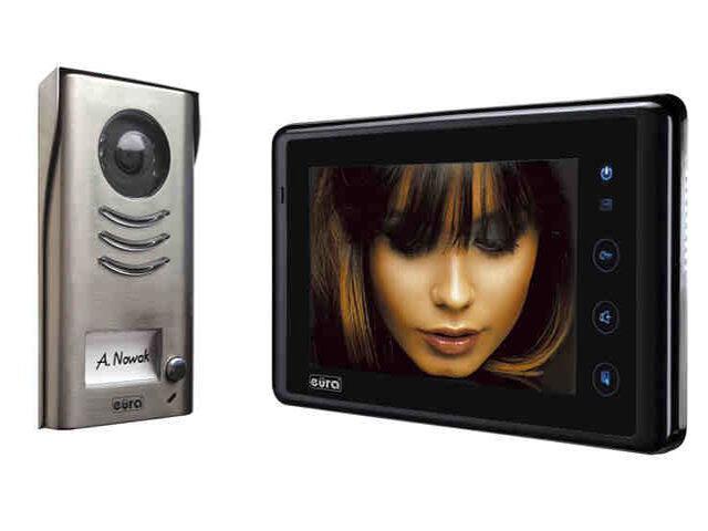 """Videodomofon 2-żyłowy """"EURA-2EASY"""" VDP-41A5 Eura-Tech"""