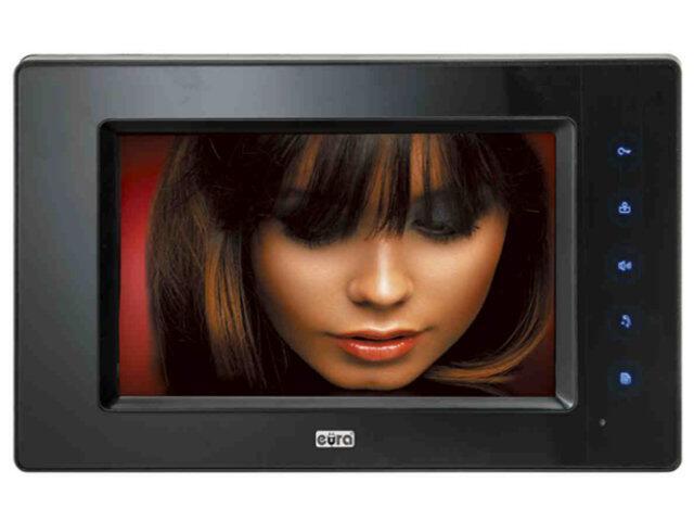 """Monitor do videodomofonu 7 cali """"EURA-VISION"""" VDA-29A5 Eura-Tech"""