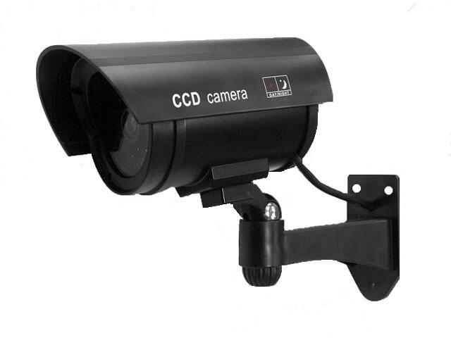 Kamera - atrapa kamery monitorującej AK-03B3 do użytku wewnętrznego i zewnętrznego Eura-Tech