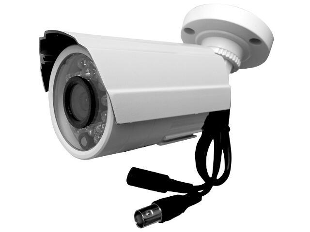 Kamera zewnętrzna do monitoringu AXC PB600H3/6I24N-N standard biała menu OSD Eura-Tech