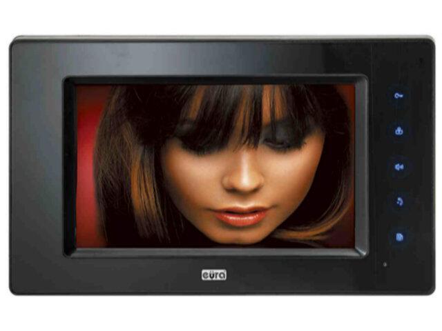 """Monitor do videodomofonu 7 cali """"EURA-VISION"""" VDA-03A5 Eura-Tech"""