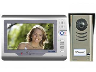 "Videodomofon kolorowy LCD 7"" z modułem pamięci OR-VID-VT-1011 Orno"