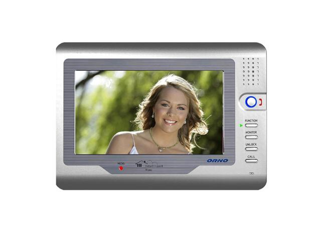 "Monitor do videodomofonu kolorowy LCD 7"" do rozbudowy zestawów z serii VT, OR-VID-VT-1011MV Orno"