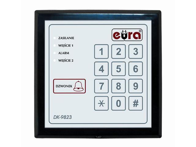 Elektrozaczep szyfrowy DK-9823 Eura-Tech