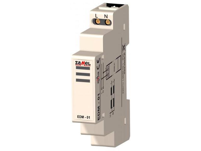 Brzęczyk sygnalizacyjny 230V typ: EDM-01 Zamel