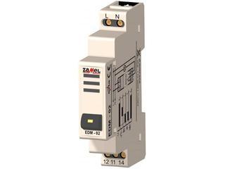 Brzęczyk sygnalizacyjny przycisk kasujący 230V typ: EDM-02 Zamel
