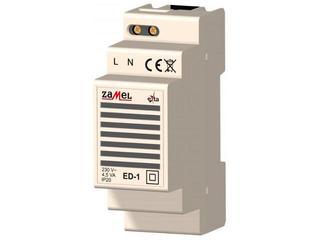 Brzęczyk przyzywowy 230V typ: ED-1 Zamel