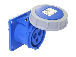 Gniazdo tablicowe proste Twist IP67 16A 230V 2P+Z 75x75mm PCE