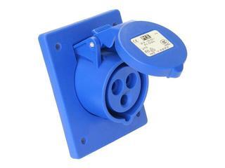 Gniazdo tablicowe skośne IP44 32A 230V 2P+Z 80x97mm PCE