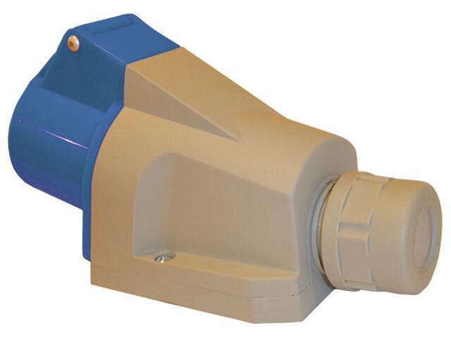 Gniazdo siłowe zasilające izolacyjne stałe 16A/250V 2P+Z Tarel