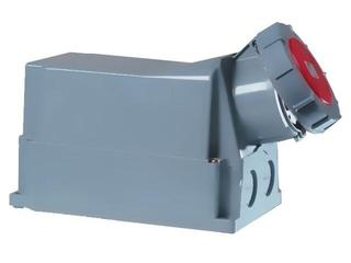 Gniazdo siłowe zasilające stałe IP67 bez dławika 125A 400V 3P+N+Z PCE