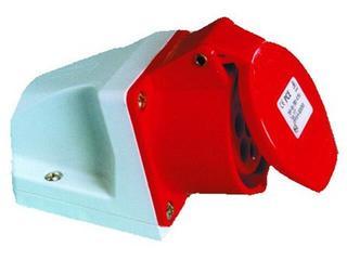 Gniazdo siłowe zasilające stałe IP44 16A 400V 3P+Z mała obudowa PCE