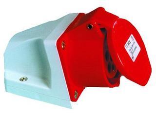 Gniazdo siłowe zasilające stałe IP44 32A 400V 3P+Z+N mała obudowa PCE
