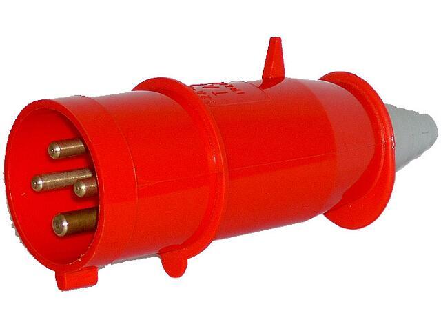 Wtyczka siłowa odbiornikowa izolacyjna przenośna 32A/400V 3P+Z Tarel