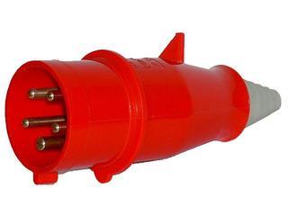 Wtyczka siłowa odbiornikowa izolacyjna przenośna 16A/400V 3P+N+Z Tarel