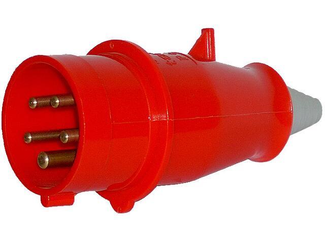 Wtyczka siłowa odbiornikowa izolacyjna przenośna 32A/400V 3P+N+Z Tarel